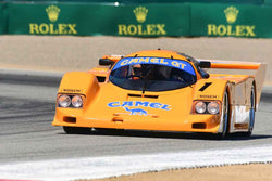 John Levitt in Group 7A IMSA Prototypes-GTP/WSC/LMP/DP at the 2019 Rolex Monterey Motorsport Reunion run at WeatherTech Raceway Laguna Seca