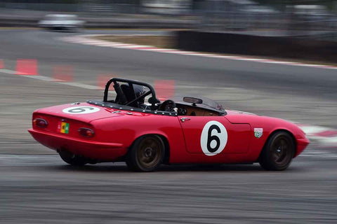 Kadie Casey - 1966 Lotus Elan in Group 1 Vintage and Small Bore 1972 and Earlier and Formula Vee at the 2019 SOVREN Columbia River Classic run at Portland International Raceway