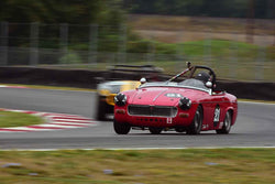 Bill Greenman - 1967 MG Midget in Group 1 Vintage and Small Bore 1972 and Earlier and Formula Vee at the 2019 SOVREN Columbia River Classic run at Portland International Raceway
