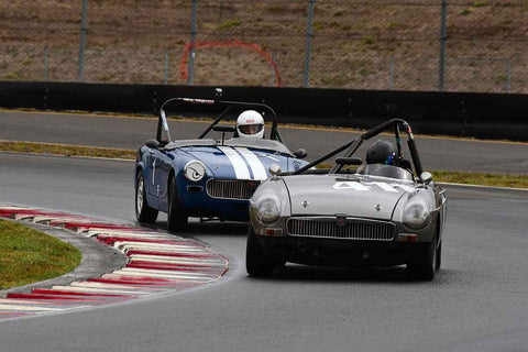 William Hart - 1965 MGB in Group 1 Vintage and Small Bore 1972 and Earlier and Formula Vee at the 2019 SOVREN Columbia River Classic run at Portland International Raceway