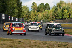 Group 8 60th Anniversary of the Mini at the 2019 SOVREN Columbia River Classic run at Portland International Raceway