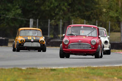 Richard Paterson - 1960 Morris Mini in Group 8 60th Anniversary of the Mini at the 2019 SOVREN Columbia River Classic run at Portland International Raceway