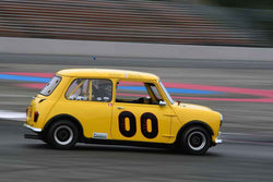 John Burmann - 1967 Austin Mini Cooper in Group 8 60th Anniversary of the Mini at the 2019 SOVREN Columbia River Classic run at Portland International Raceway
