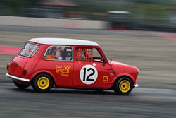 Paul Quackenbush - 1966 Austin Mini Cooper S in Group 8 60th Anniversary of the Mini at the 2019 SOVREN Columbia River Classic run at Portland International Raceway