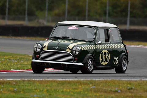 James Stiehr - 1964 Morris Mini Cooper S Mk I in Group 8 60th Anniversary of the Mini at the 2019 SOVREN Columbia River Classic run at Portland International Raceway