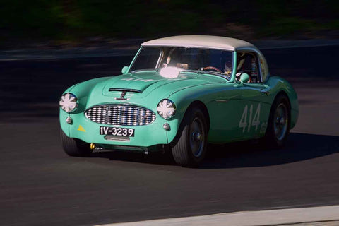 Doug Escriva - 1957 Austin 100-6 MM in Group 1Vintage & Small Bore Production/FV/ FJr  at the 2019 SOVREN Spring Sprints run at Pacific Raceway