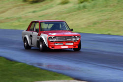 Josh Moriarty - 1969 Datsun 510 in Group 2 Mid Bore Production  at the 2019 SOVREN Spring Sprints run at Pacific Raceway