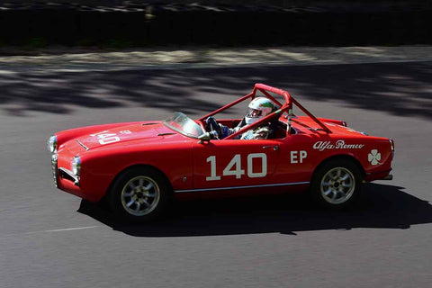 John Gates - 1965 Alfa Romeo Spider in Group 2 Mid Bore Production  at the 2019 SOVREN Spring Sprints run at Pacific Raceway