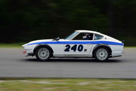 Mark Mullen - 1971 Datsun 240Z in Group 2 Mid Bore Production  at the 2019 SOVREN Spring Sprints run at Pacific Raceway