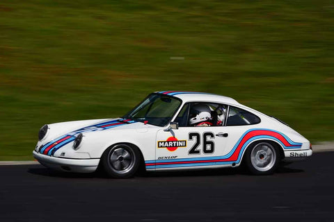 Jim Loveall - 1969 Porsche 911 in Group 2 Mid Bore Production  at the 2019 SOVREN Spring Sprints run at Pacific Raceway