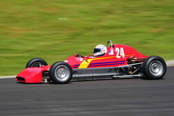 Tracy Dye -  Crossle 35F in Group 4 Formula/Club Ford / Formula B at the 2019 SOVREN Spring Sprints run at Pacific Raceway