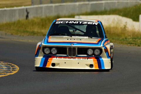Thor Johnson - 1974 BMW 3.5 CSL in Group 10 1971-80 IMSA Camel GT at the 2019 Sonoma Speed Festival run at Sonoma Raceway/Sears Point