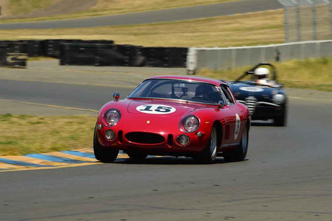Rob Walton - 1965 Ferrari 275 GTB/C Speciale in Group 3 1959-65 Production/GT Cars up to 5-liters at the 2019 Sonoma Speed Festival run at Sonoma Raceway/Sears Point