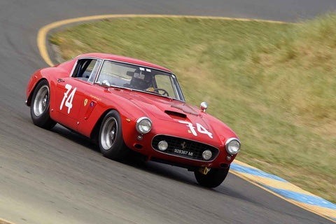 Ned Spieker - 1961 Ferrari 250SWB in Group 3 1959-65 Production/GT Cars up to 5-liters at the 2019 Sonoma Speed Festival run at Sonoma Raceway/Sears Point