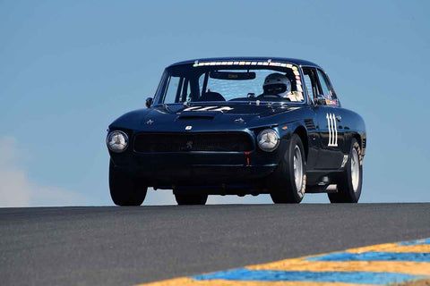 Pete Whitehead - 1964 Iso Rivolta GT in Group 3 1959-65 Production/GT Cars up to 5-liters at the 2019 Sonoma Speed Festival run at Sonoma Raceway/Sears Point