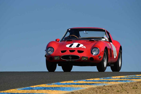 Sandra McNeil - 1962 Ferrari 250 GTO in Group 3 1959-65 Production/GT Cars up to 5-liters at the 2019 Sonoma Speed Festival run at Sonoma Raceway/Sears Point