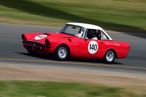 Dave Lipsky - 1965 Sunbeam Tiger in Group 3 1959-65 Production/GT Cars up to 5-liters at the 2019 Sonoma Speed Festival run at Sonoma Raceway/Sears Point