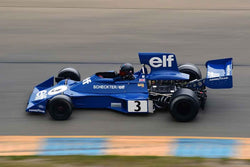 Nicolas Colyvas - 1974 Tyrrell 007 in Group 4 1966-85 Masters USA Historic Formula 1 at the 2019 Sonoma Speed Festival run at Sonoma Raceway/Sears Point