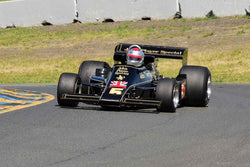 Chris Locke - 1976 Lotus 77 in Group 4 1966-85 Masters USA Historic Formula 1 at the 2019 Sonoma Speed Festival run at Sonoma Raceway/Sears Point