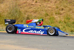 James Hagan - 1982 Tyrrell 011 Blue in Group 4 1966-85 Masters USA Historic Formula 1 at the 2019 Sonoma Speed Festival run at Sonoma Raceway/Sears Point
