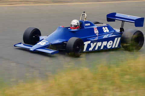 Dalmo de Vasconcelos - 1980 Tyrrell 010 in Group 4 1966-85 Masters USA Historic Formula 1 at the 2019 Sonoma Speed Festival run at Sonoma Raceway/Sears Point