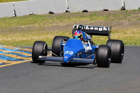 Stephen Romak - 1985 Tyrrell 012 in Group 4 1966-85 Masters USA Historic Formula 1 at the 2019 Sonoma Speed Festival run at Sonoma Raceway/Sears Point