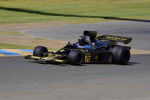 Andrew Beaumont - 1974 Lotus 76 in Group 4 1966-85 Masters USA Historic Formula 1 at the 2019 Sonoma Speed Festival run at Sonoma Raceway/Sears Point