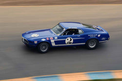 Don Dimitriadis - 1969 Ford Boss 302 in Group 6 1966-72 Historic Trans Am at the 2019 Sonoma Speed Festival run at Sonoma Raceway/Sears Point