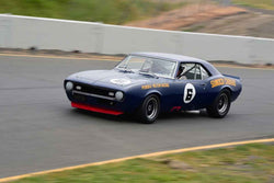 Bill Ockerlund - 1969 Chevrolet Camaro in Group 6 1966-72 Historic Trans Am at the 2019 Sonoma Speed Festival run at Sonoma Raceway/Sears Point