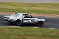 James Bittle - 1968 Ford Mustang in Group 6 1966-72 Historic Trans Am at the 2019 Sonoma Speed Festival run at Sonoma Raceway/Sears Point