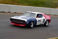 Ken Epsman - 1971 AMC Javelin in Group 6 1966-72 Historic Trans Am at the 2019 Sonoma Speed Festival run at Sonoma Raceway/Sears Point