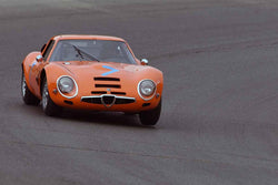 Rob Walton - 1965 Alfa Romeo TZ2 in Group 7 1965-69 Production Cars Under 2.5-liters at the 2019 Sonoma Speed Festival run at Sonoma Raceway/Sears Point