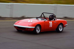 John Baird - 1967 Lotus Elan SE in Group 7 1965-69 Production Cars Under 2.5-liters at the 2019 Sonoma Speed Festival run at Sonoma Raceway/Sears Point