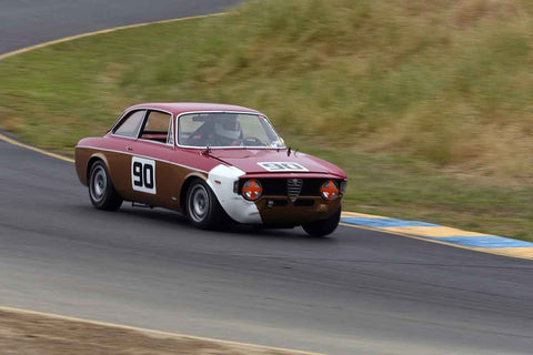 Howard Swig - 1968 Alfa Romeo Romeo 1300 GTA in Group 7 1965-69 Production Cars Under 2.5-liters at the 2019 Sonoma Speed Festival run at Sonoma Raceway/Sears Point