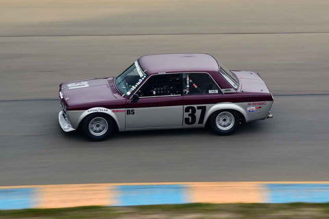 Mark Nettesheim - 1969 Datsun 510 in Group 7 1965-69 Production Cars Under 2.5-liters at the 2019 Sonoma Speed Festival run at Sonoma Raceway/Sears Point
