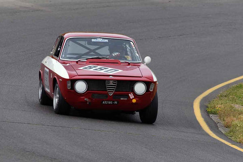 Rick Jeffery - 1966 Alfa Romeo GTA in Group 7 1965-69 Production Cars Under 2.5-liters at the 2019 Sonoma Speed Festival run at Sonoma Raceway/Sears Point