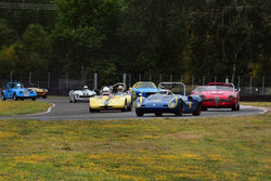 Group 1-3-4-5aSmall Bore Production/Early Specials at the 2019 SVRA Portland Speedtour run at Portland International Raceway