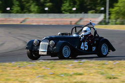 Mike Granat - 1967 Morgan 4 in Group 1-3-4-5aSmall Bore Production/Early Specials at the 2019 SVRA Portland Speedtour run at Portland International Raceway