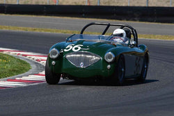 Richard Thomas - 1956 Austin Healey 100 M in Group 1-3-4-5aSmall Bore Production/Early Specials at the 2019 SVRA Portland Speedtour run at Portland International Raceway