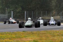 Group 2 Open Wheel Cars at the 2019 SVRA Portland Speedtour run at Portland International Raceway