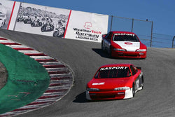 Group 10 Select sports cars, Trans-Am raced between 1973 and 1999 at the 2019 SVRA Trans Am Speed Fest run at Weathertech Raceway Laguna Seca