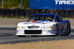 John Cavanaugh - 1996 Mustang TA in Group 10 Select sports cars, Trans-Am raced between 1973 and 1999 at the 2019 SVRA Trans Am Speed Fest run at Weathertech Raceway Laguna Seca