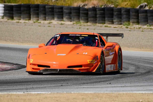 Steve Goldman - 2002 Chevrolet Corvette in Group 10 Select sports cars, Trans-Am raced between 1973 and 1999 at the 2019 SVRA Trans Am Speed Fest run at Weathertech Raceway Laguna Seca