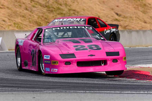 Walter Brown - 1987 Chevrolet Camaro in Group 10 Select sports cars, Trans-Am raced between 1973 and 1999 at the 2019 SVRA Trans Am Speed Fest run at Weathertech Raceway Laguna Seca
