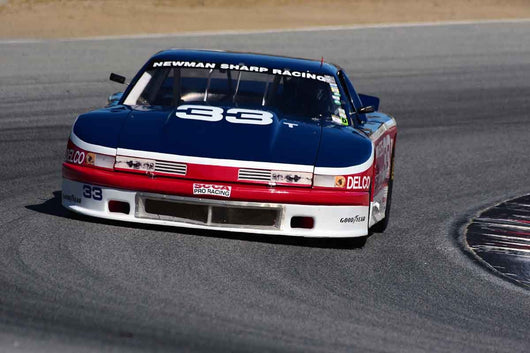 Bill Ockerlund - 1991 Chevrolet Camaro in Group 10 Select sports cars, Trans-Am raced between 1973 and 1999 at the 2019 SVRA Trans Am Speed Fest run at Weathertech Raceway Laguna Seca