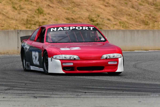 Jim Froula - 1995 Nissan 240SX in Group 10 Select sports cars, Trans-Am raced between 1973 and 1999 at the 2019 SVRA Trans Am Speed Fest run at Weathertech Raceway Laguna Seca