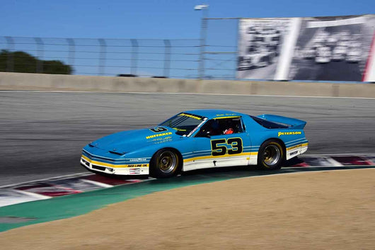 Ken Epsman - 1984 Pontiac Trans Am Olds in Group 10 Select sports cars, Trans-Am raced between 1973 and 1999 at the 2019 SVRA Trans Am Speed Fest run at Weathertech Raceway Laguna Seca