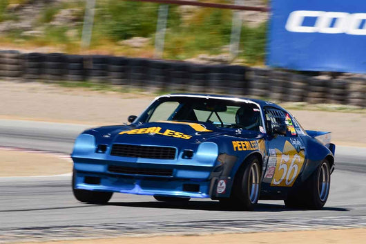 Jeff Abramson - 1970 Chevrolet Camaro in Group 10 Select sports cars, Trans-Am raced between 1973 and 1999 at the 2019 SVRA Trans Am Speed Fest run at Weathertech Raceway Laguna Seca