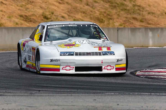 Nick DeVitis - 1988 Chevrolet Beretta Trans Am in Group 10 Select sports cars, Trans-Am raced between 1973 and 1999 at the 2019 SVRA Trans Am Speed Fest run at Weathertech Raceway Laguna Seca