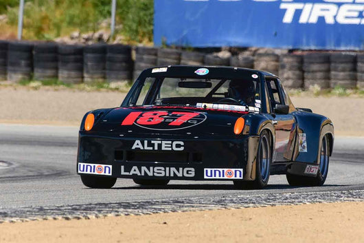 William Lyon - 1970 Porsche 914/6 IMSA in Group 10 Select sports cars, Trans-Am raced between 1973 and 1999 at the 2019 SVRA Trans Am Speed Fest run at Weathertech Raceway Laguna Seca